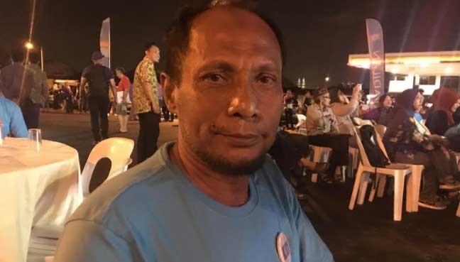 Retired soldier on 300km walk for PH arrives in Gombak