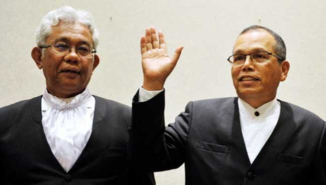 Raus-Sharif-bernama Lawyers: Top two judges' early departure won't affect court rulings