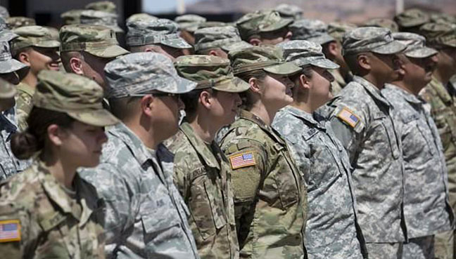 US military sees spike in sexual assault reports