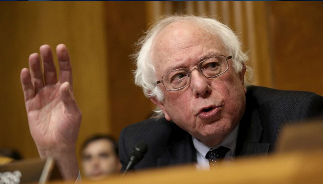 Sanders announces Senate re-election bid class=