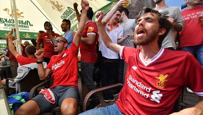 'It's our destiny' — Fans paint Liverpool red ahead of Champions League final