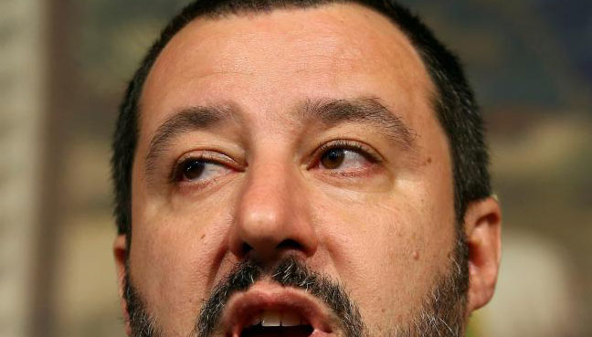 Matteo Salvini is the leader of the Northern League