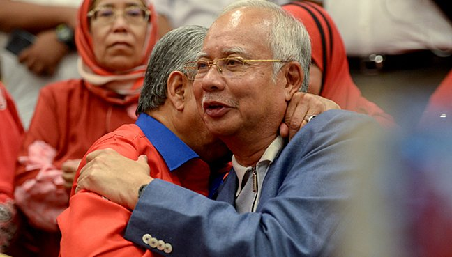 Police say searching 5 properties linked to Najib