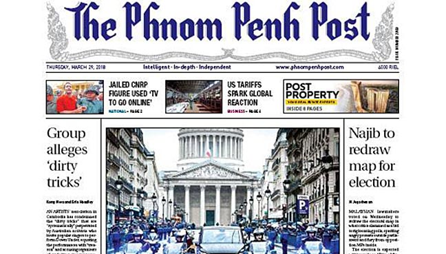 Editor of Cambodia paper fired after Malaysian takeover