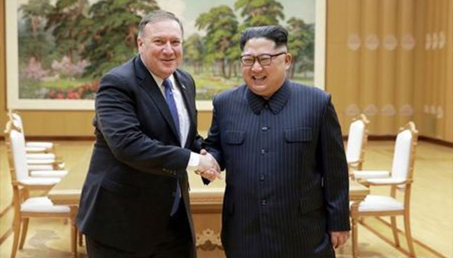 Pompeo sees hard road ahead but pursues North Korean denuclearization talks