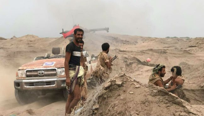 Watch the first moments in the battle to liberate Hodeidah Airport