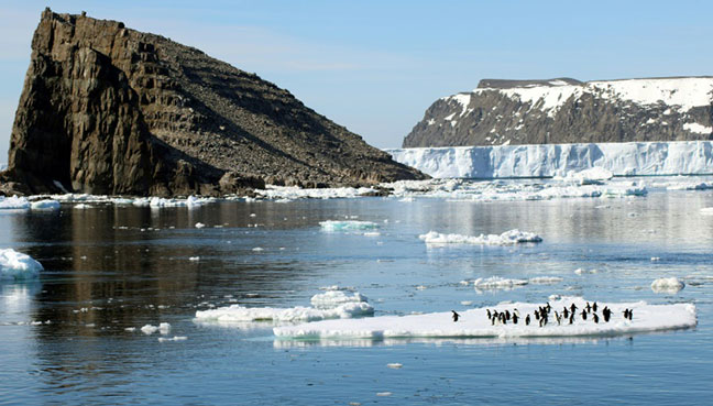 Antarctic ice is melting faster than ever: scientists