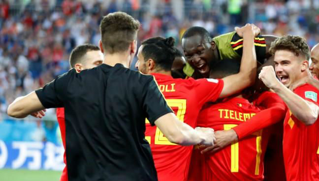 England, Belgium battle for top spot after Germany World Cup shock