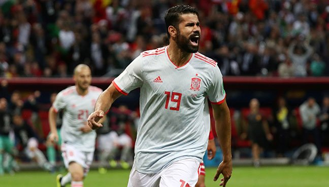 Costa scores as relieved Spain edge Iran
