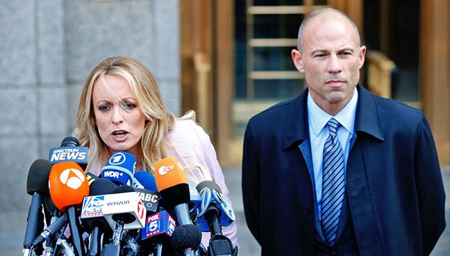 Michael Cohen Requests Court Order Forcing Stormy Daniels' Attorney to Shut Up