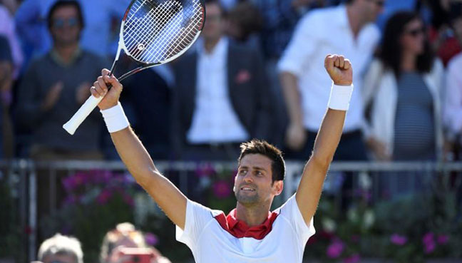Djokovic plays down Wimbledon chances despite return to form