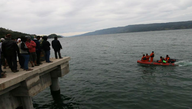 Unclear if M'sians on board capsized Lake Toba ferry