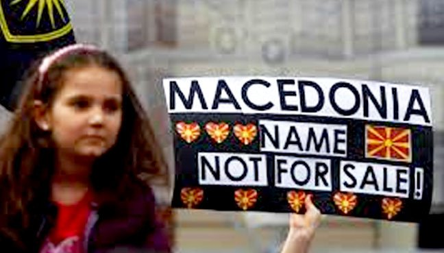 "The name ""Macedonia"" has been a major point of disputes between Greece and Macedonia"