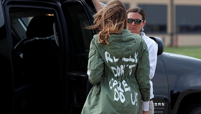 Colbert Mocks Melania Trump's Jacket