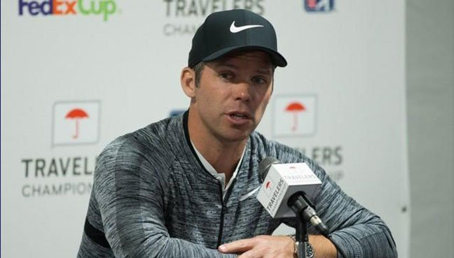 Paul Casey fires superb 62 to claim four-shot lead in CT