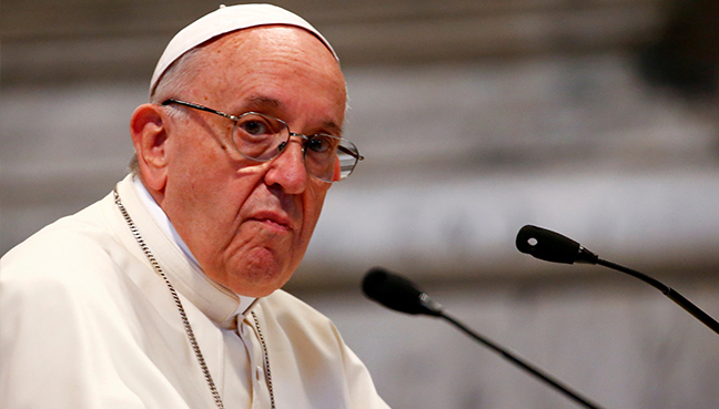 Pope Francis accepts resignation of three Chilean bishops