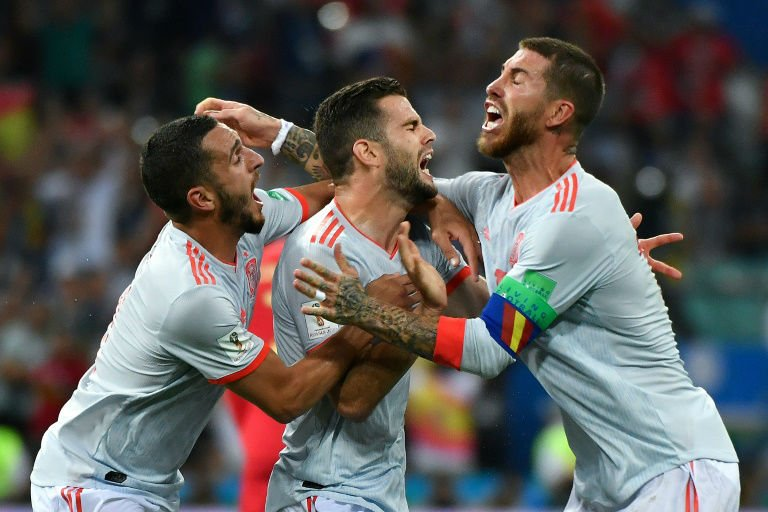 Lucky Costa goal sees Spain past dogged Iran