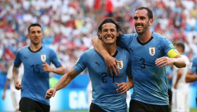 Cavani hopes calf injury 'is nothing' ahead of France quarter-final
