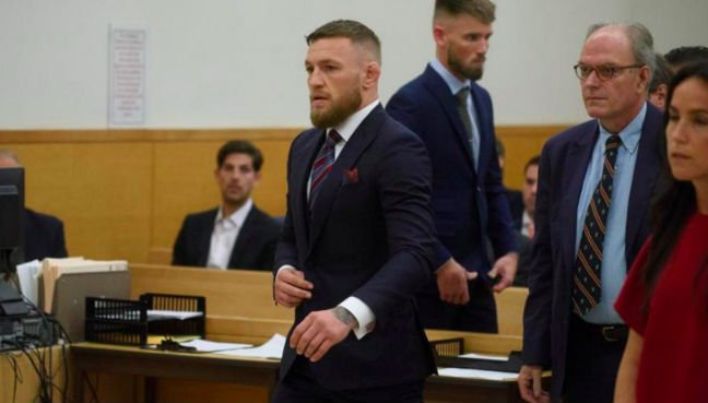 Conor McGregor pleads guilty in backstage melee case