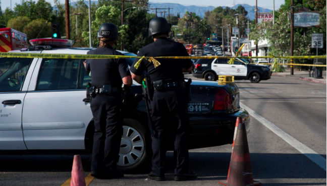 Woman killed in Los Angeles grocery store standoff shot by police