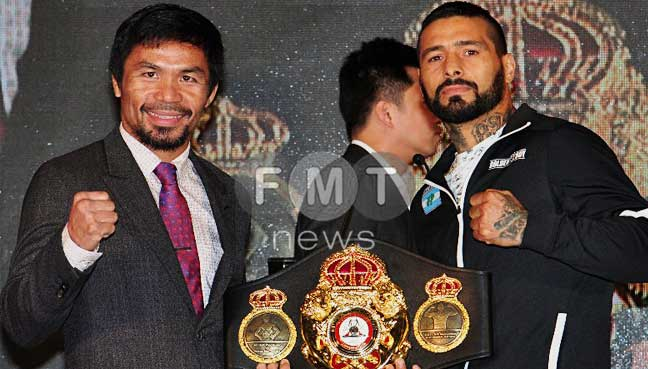 Argentinean Matthysse gears up for Pacquiao showdown