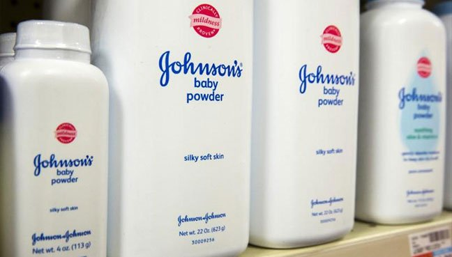 Johnson & Johnson shares dip after massive talcum powder judgment