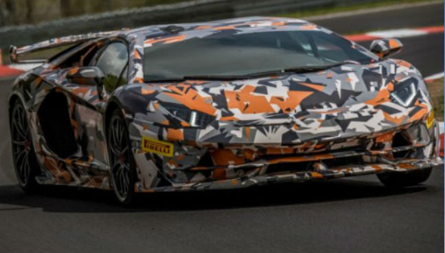 The Lamborghini Aventador SVJ lapped the Nurburgring in 6:44