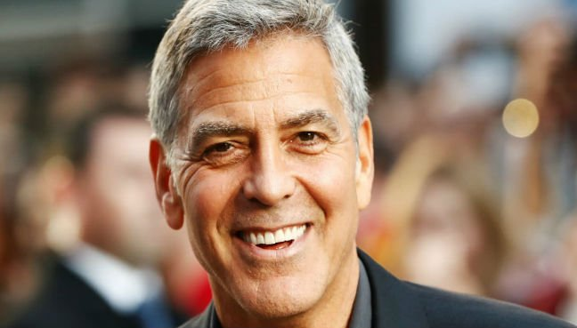 George Clooney in auto  accident in Sardinia, Italy