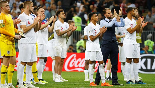 Image result for England's inexperience shows as FIFA World Cup dream is dashed