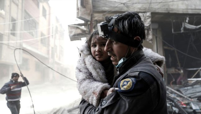 Hundreds of White Helmet volunteers evacuated from Syria