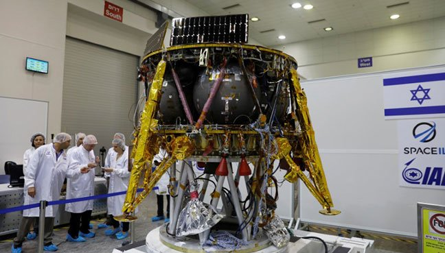 Israeli Spacecraft Aims for Historic Moon Landing: Date Released