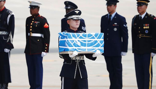 White House: N. Korea returns remains of American soldiers