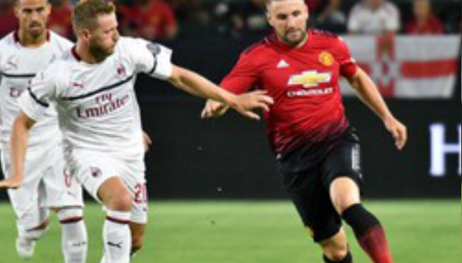 Luke Shaw: 'I've never been out of shape'