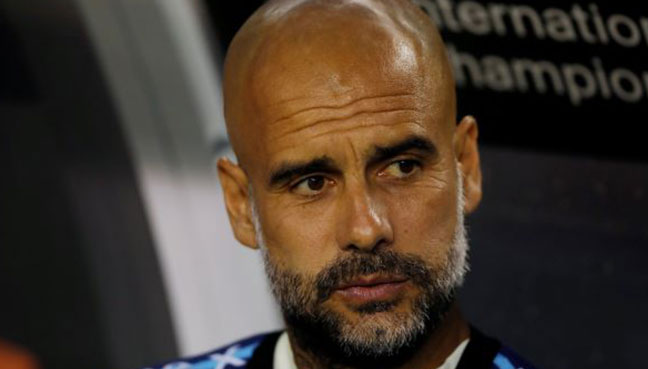 Manchester City will not break any more records, says Pep Guardiola