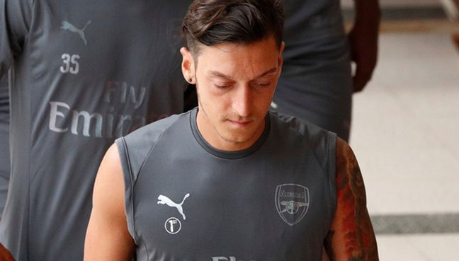 Arsenal's Mesut Ozil makes first public appearance since controversial Germany withdrawal