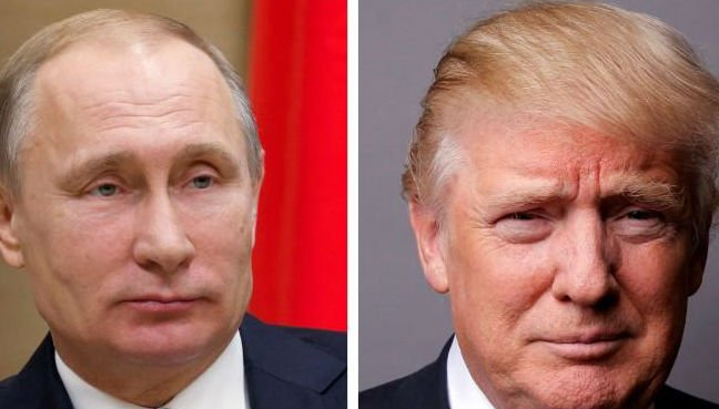 Trump backs Putin on election meddling