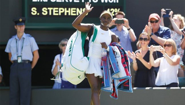 All-or-nothing Slams: Stephens out in Wimbledon's 1st Round