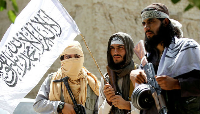 Taliban militants hold their first direct talks with the U.S. in Qatar