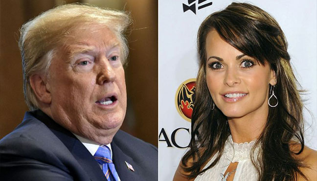 Tape reveals Trump and lawyer discussing payoff over alleged affair