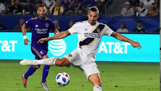 Zlatan scores first MLS hat-trick for LA Galaxy
