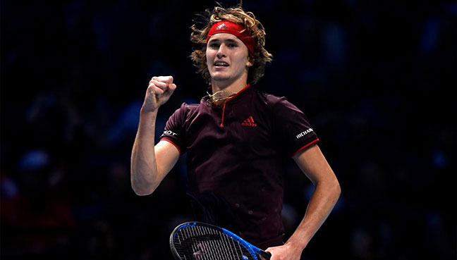 Zverev wins battle of Wimbledon's rising stars