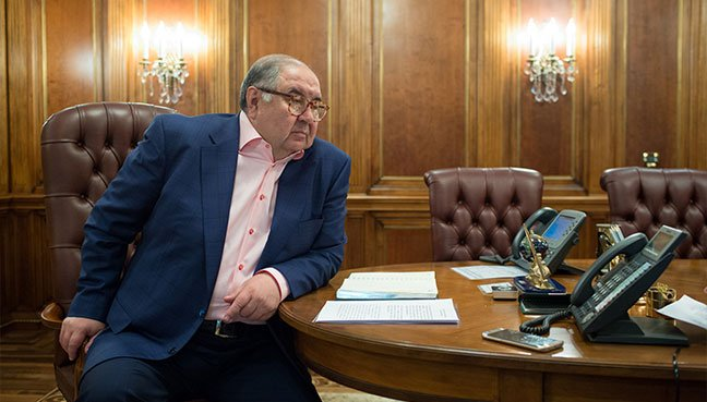 Usmanov open to Everton investment