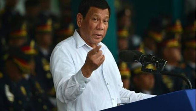 Temper behaviour in South China Sea, Duterte tells China