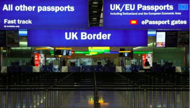 Border queue times at Heathrow fail to meet targets