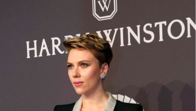Scarlett Johansson arrives for amfAR's Annual Fashion Week New York Gala in New York City US February 2017