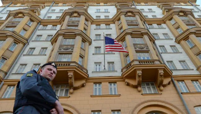 Suspected Russian spy reportedly worked for years at U.S.  embassy in Moscow
