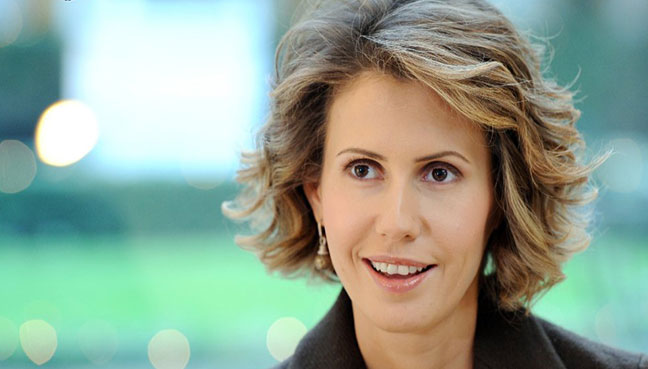 Syrian first lady Asma al-Assad treated for breast cancer