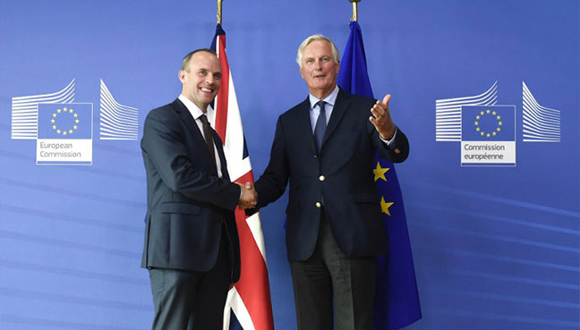 Britain, EU vow continuous Brexit talks in final phase ...