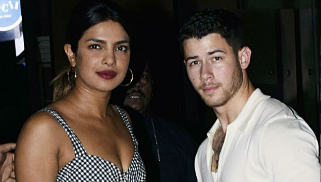 Bollywood actress Priyanka Chopra and US singer Nick Jonas