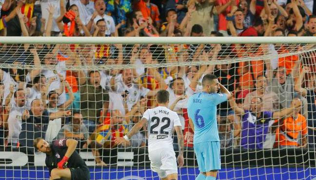Valencia hold Atletico Madrid in thrilling Liga draw